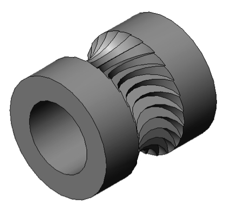 Figure 1 Jaws filament drive gear