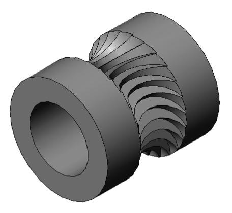 Figure 1 Jaws filament drive gear