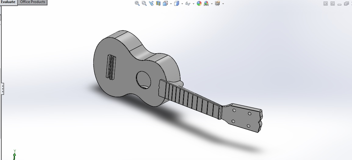 picture regarding 3d Printable Instruments named 3D Printing Musical Tools: The Ukulele re:3D Existence