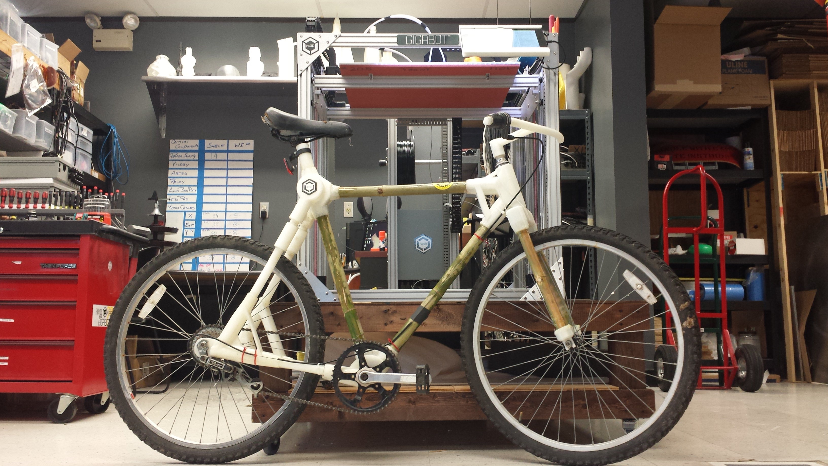 Making A 3d Printed Bicycle Prototype Re 3d Life Sized