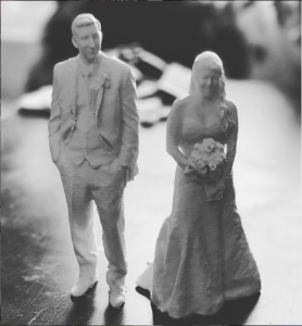 3D Prints Of Newlyweds From 3D Scans