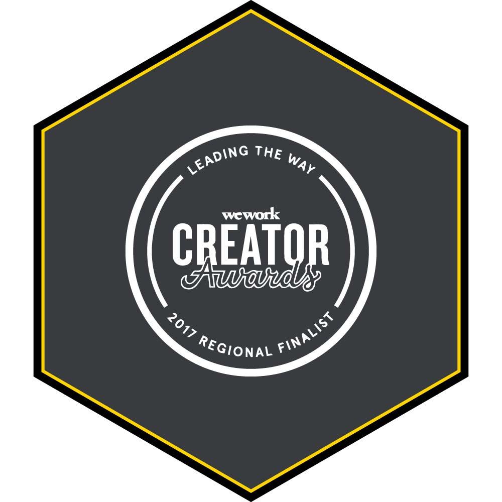 WeWork-CREATOR-awards-Regional-Finalist-2017