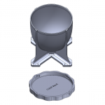 Revised GBX Hopper & Lid