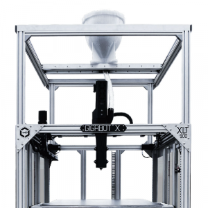 the hopper gantry and extruder cover. New parts for Gigabot X