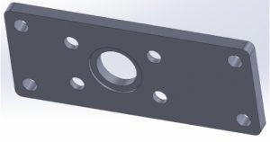 Gigabot X Thrust Bearing Plate