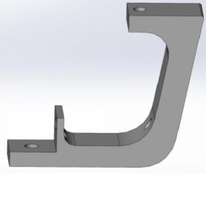 A C shaped support