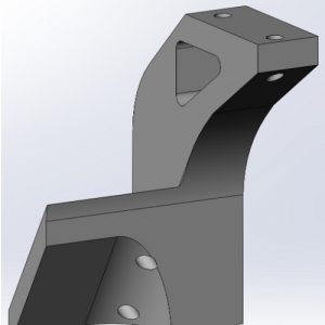 The Top Portion of the XY Upright