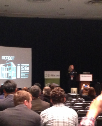 Katy pitches at Inside 3D Printing NYC