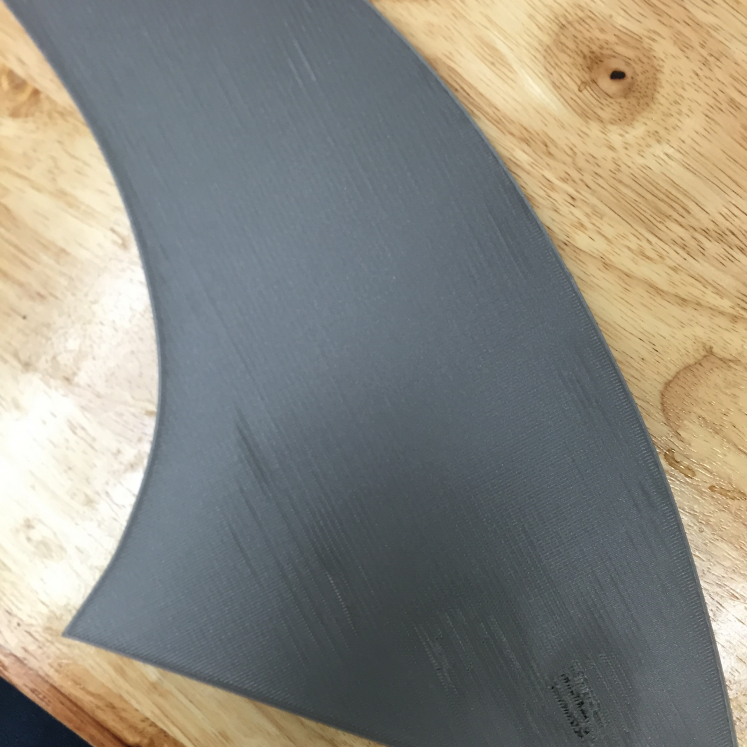 Second generation fin designed for the T slot groove